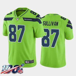 Seattle Seahawks Stephen Sullivan Green Jersey